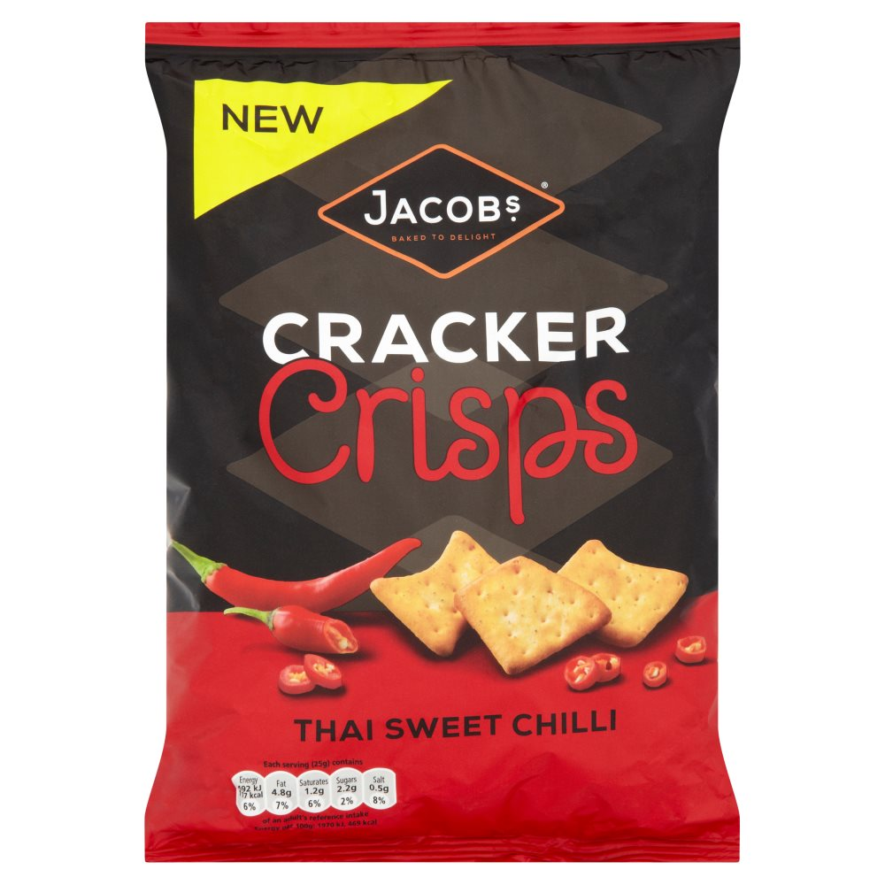 Jacob Cracker Crisp Sweet Chilli
