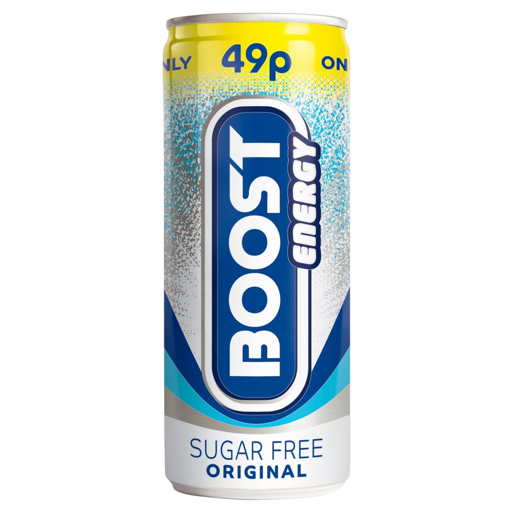 Boost Sugar Free Energy PM 49p