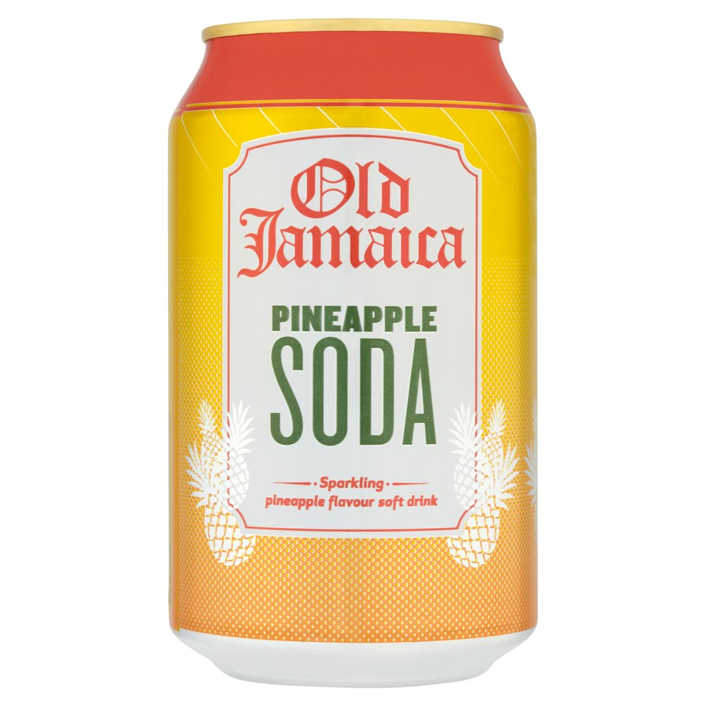 Old Jamaica Pineapple Soda Drink 55p