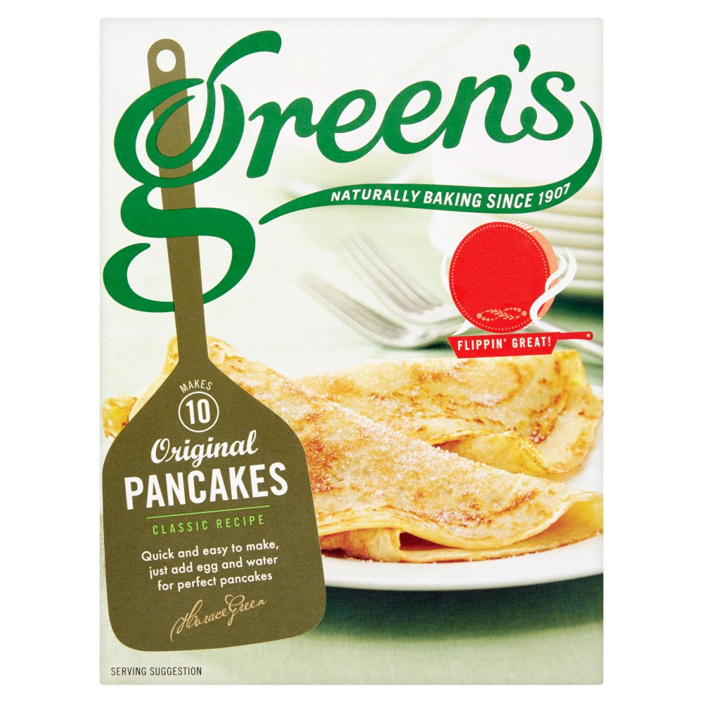 Greens Pancake Mix PM £1