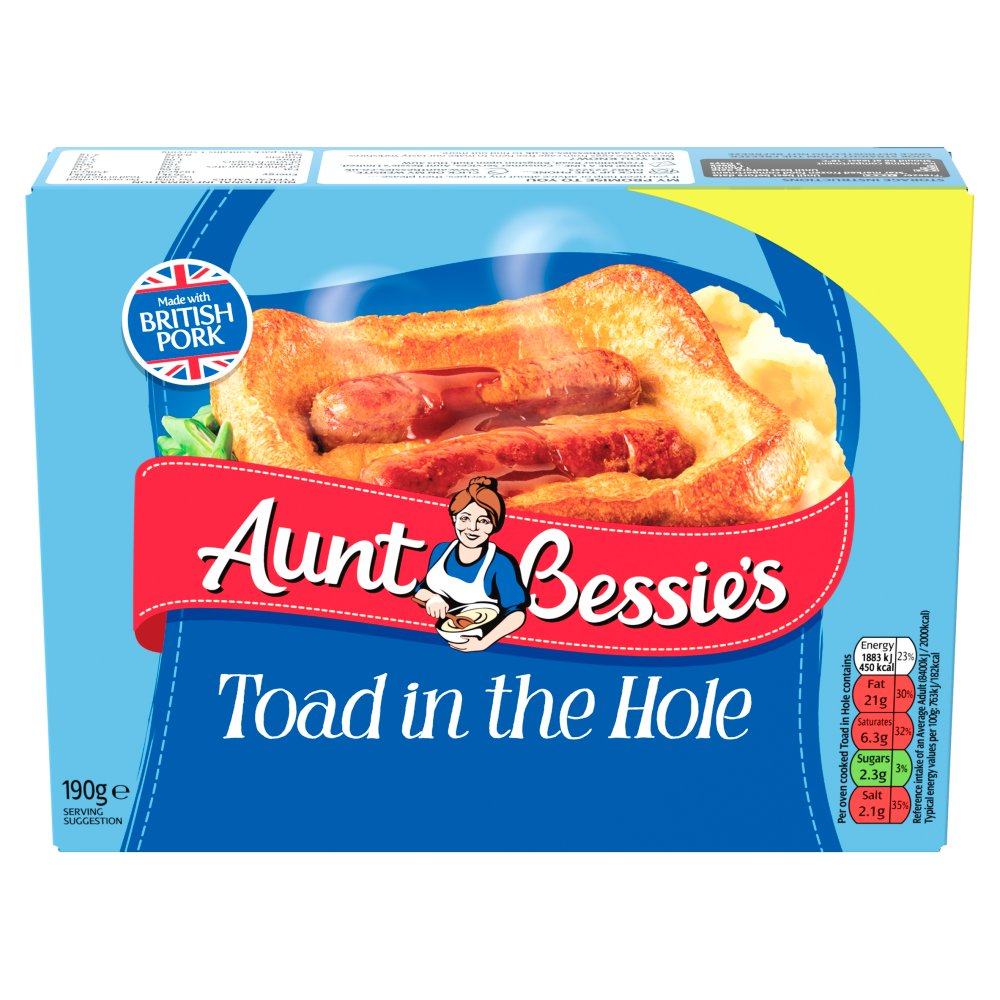 Aunt Bessies Toad In The Hole £1.75