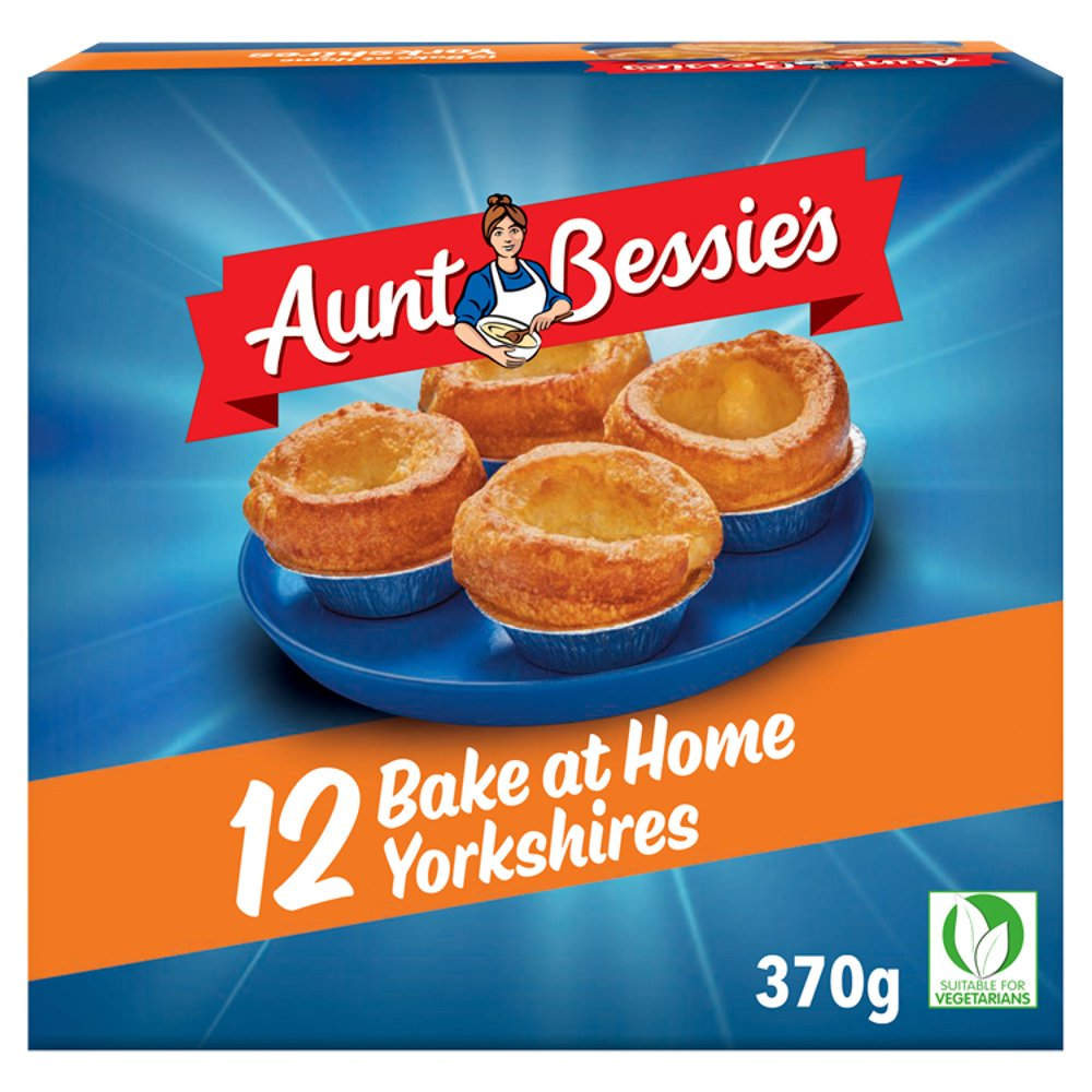 Aunt Bessies 12 Yorkshire Pudding Batter