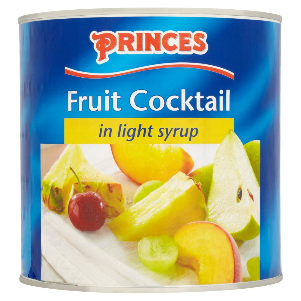 Princess Fruit Cocktail Syrup