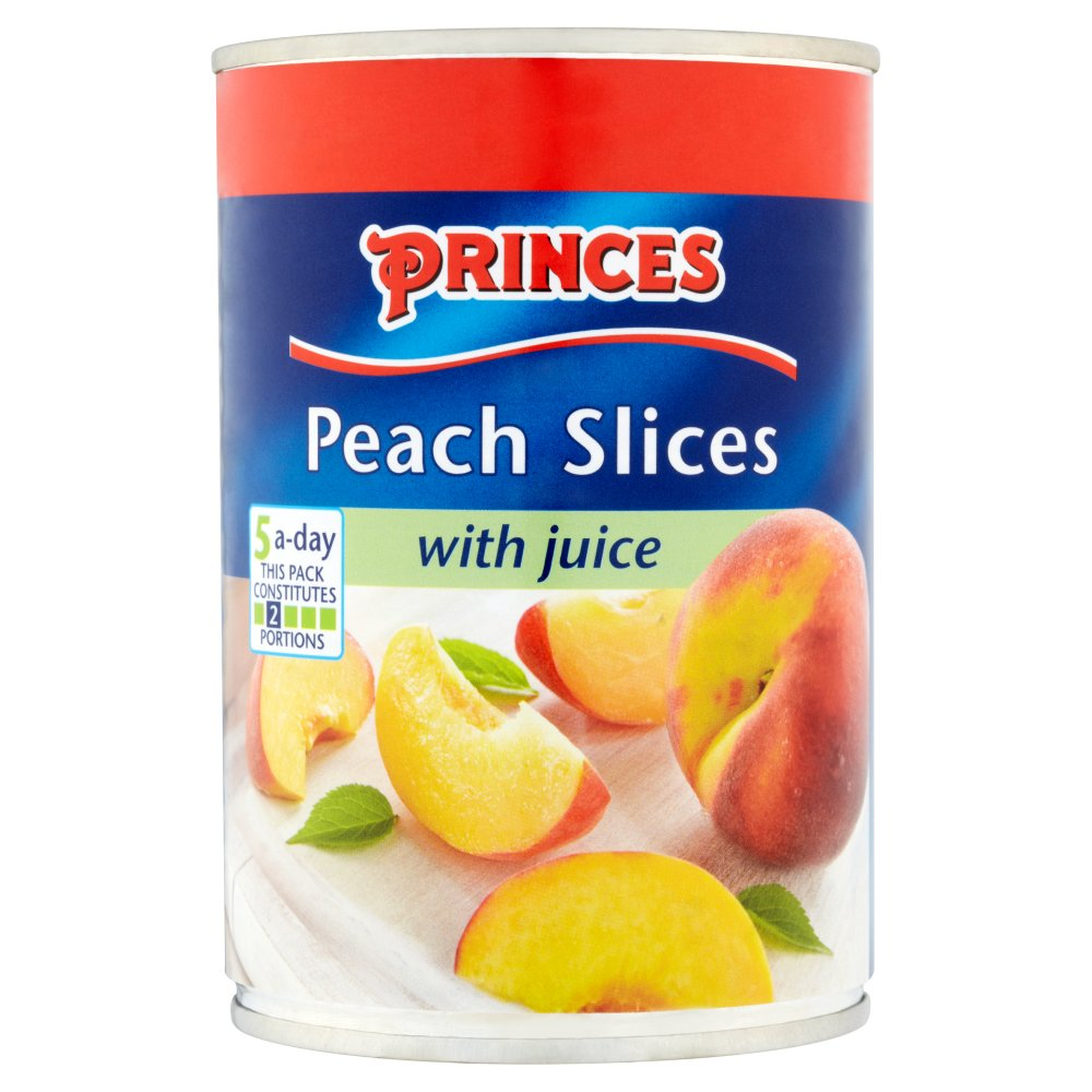 Princes Peach Slices Juice PM £1