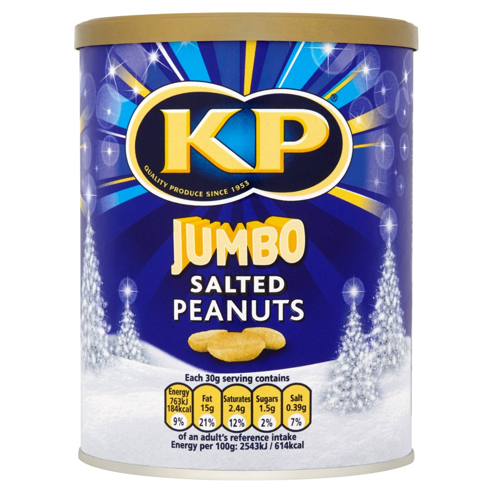 KP Jumbo Salted Peanuts Caddy