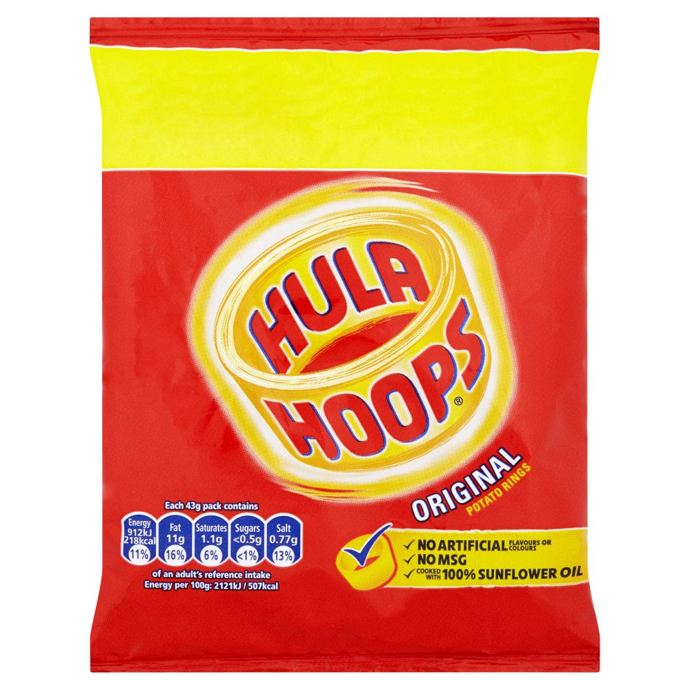 KP Hula Hoops Original +25%