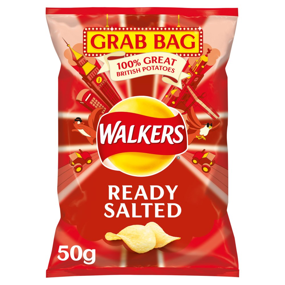 Walkers Ready Salted Crisps 50g