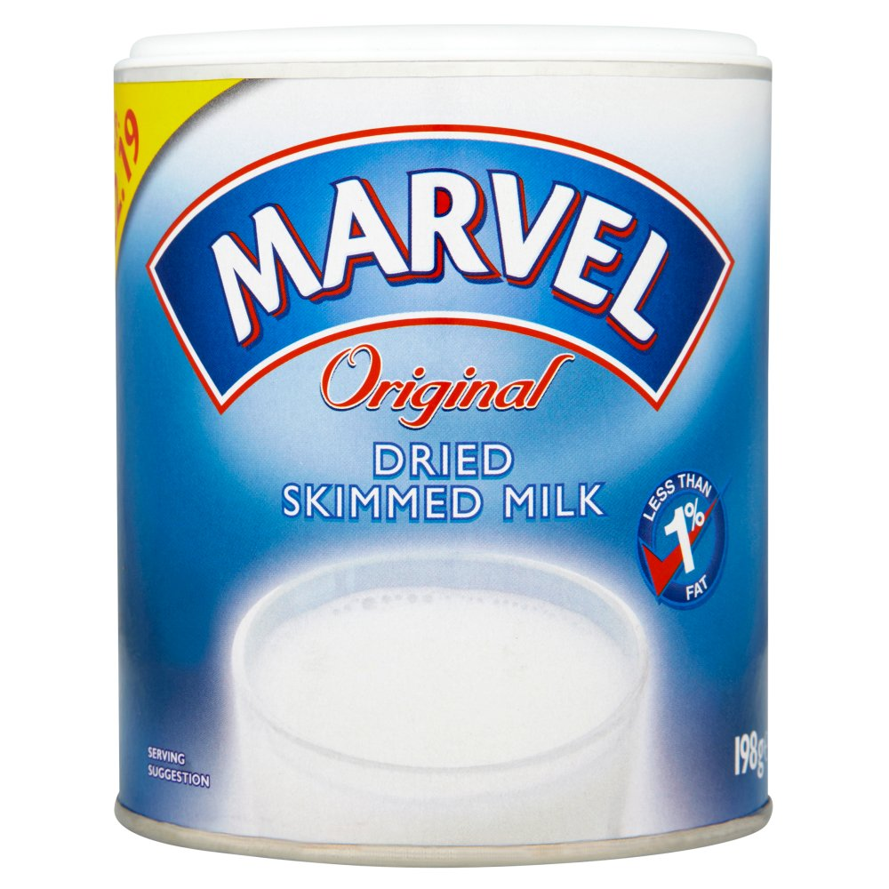 Marvel Original Dried Skimmed Milk PM £2.19