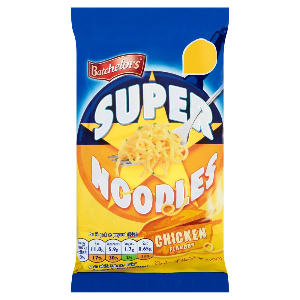 Batchelors Super Noodles Chicken PM 89p