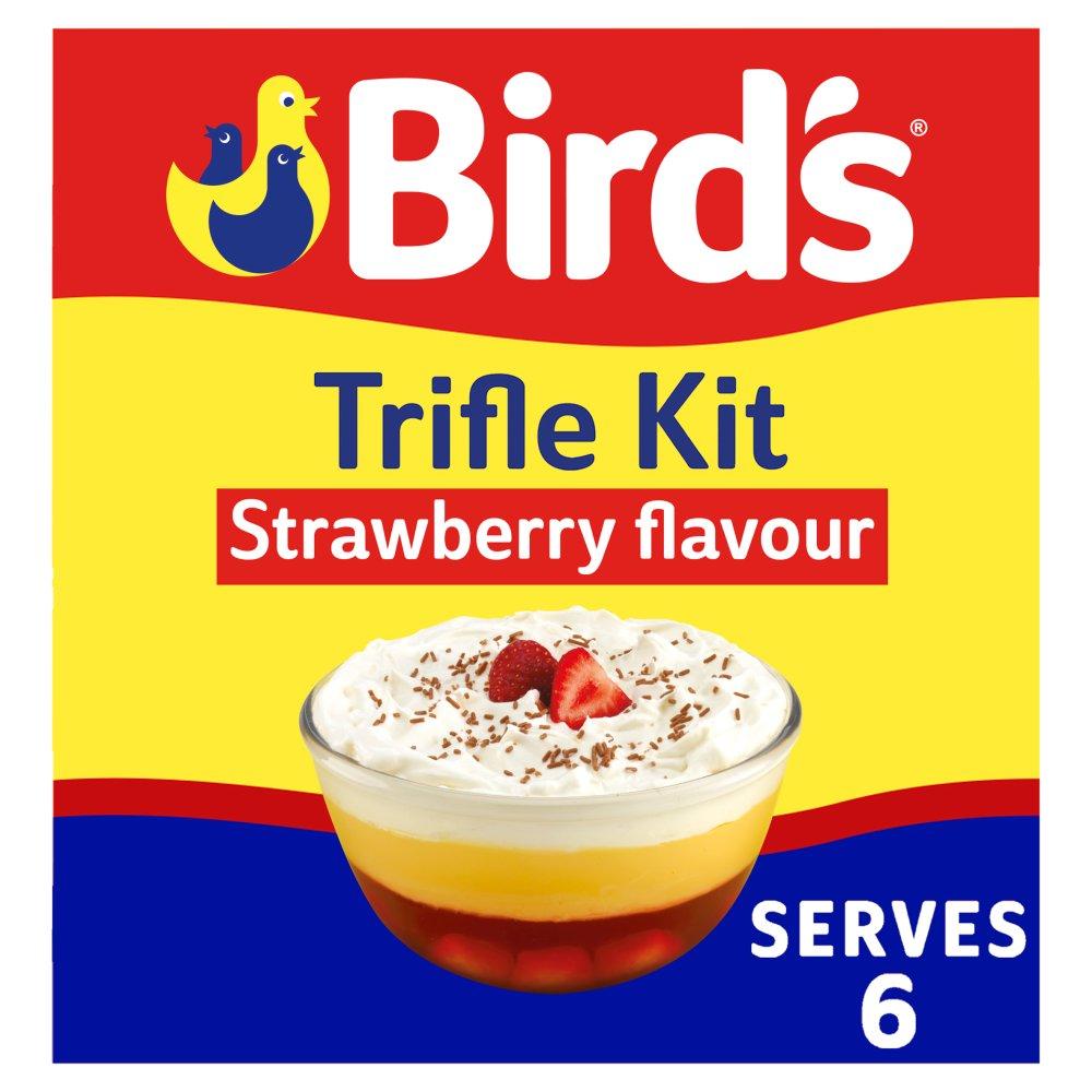 Birds Trifle Kit Strawberry Flavour 141g
