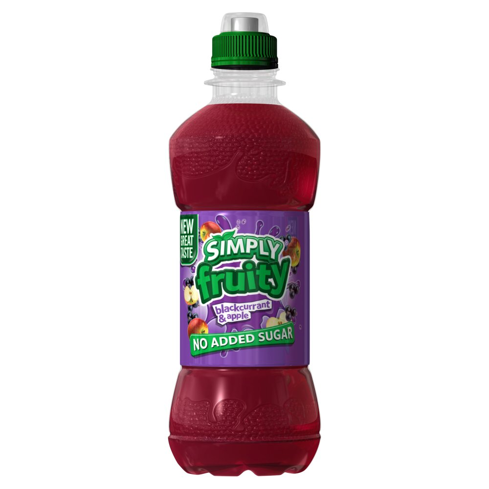 Simply Fruity Apple & Black Currant PM £2.99
