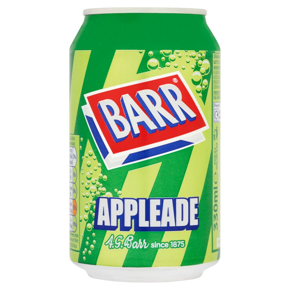 Barr Appleade 330ml Cans PMP 39p