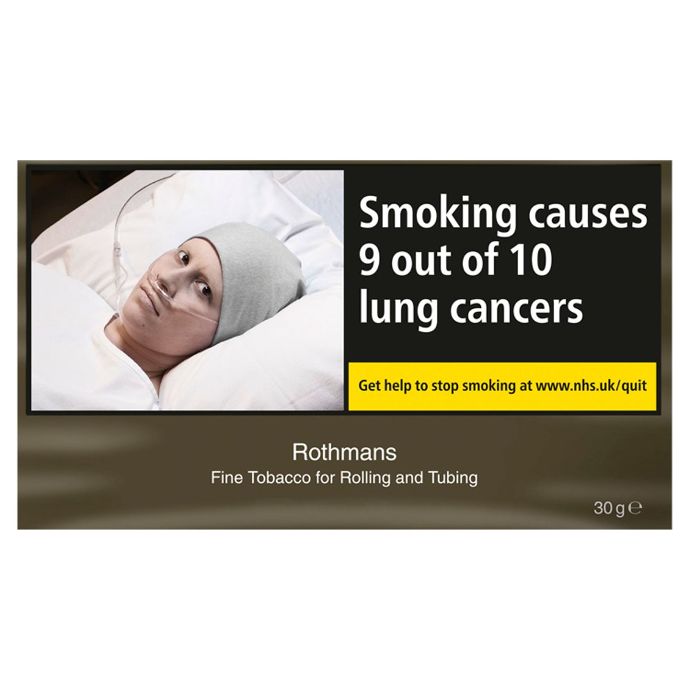 Rothmans Fine Tobacco for Rolling and Tubing 30g