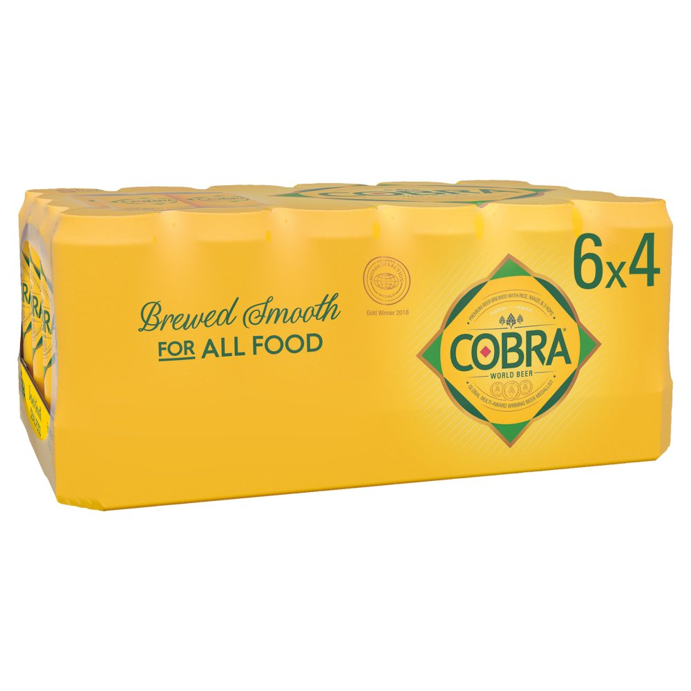 Cobra Premium Beer 24 x 500ml