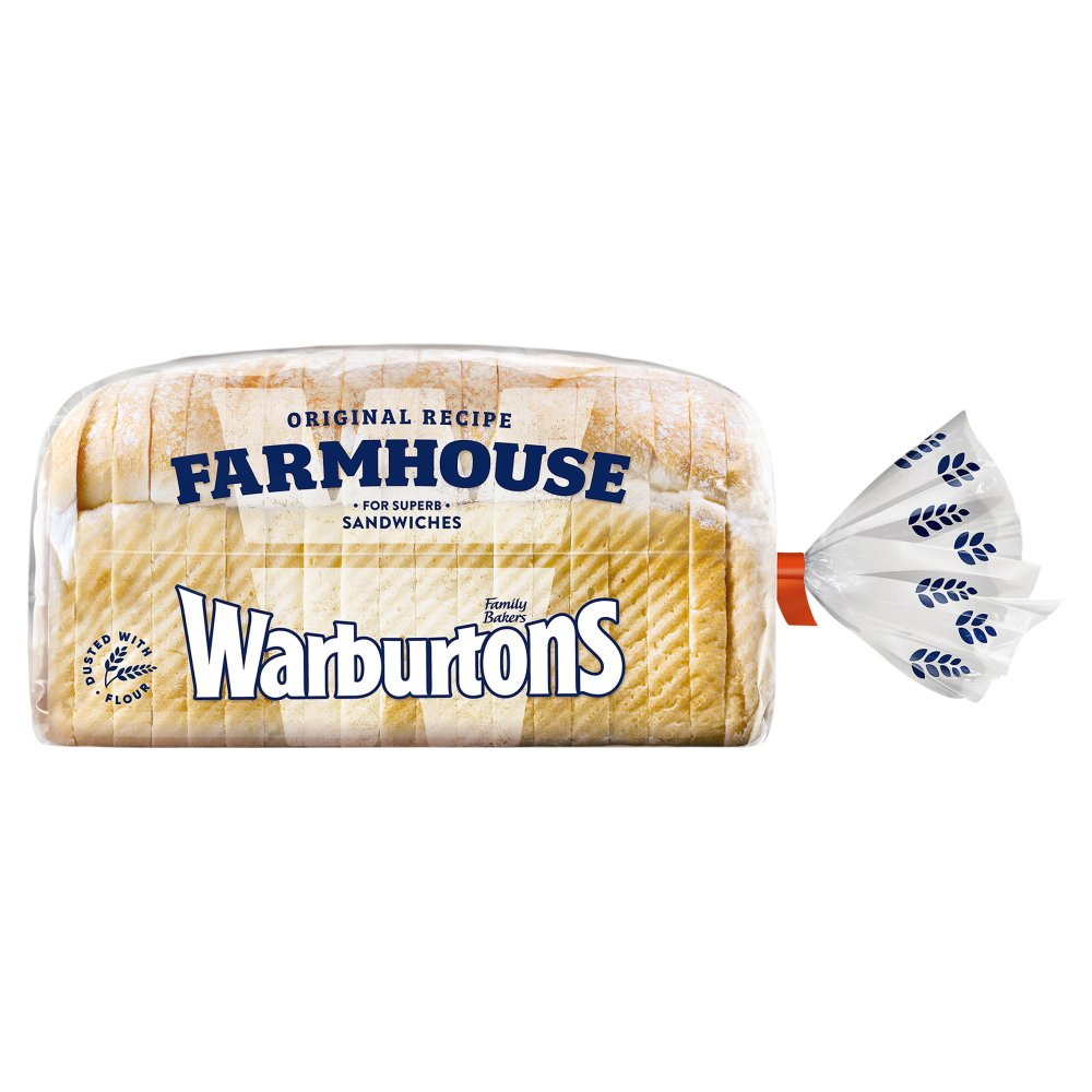 Warburton Original Soft White Farmhouse Loaf