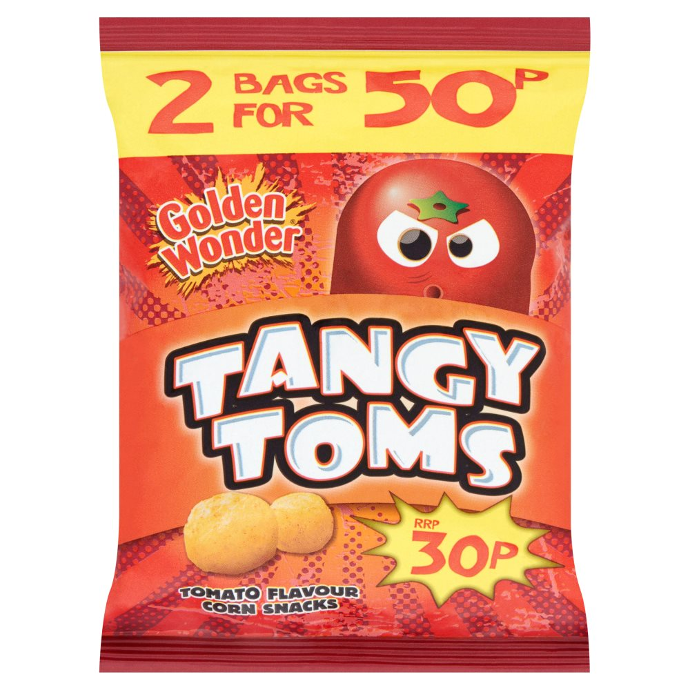 Golden Wonder Tangy Toms
