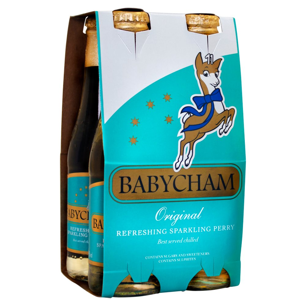 Babycham Original Refreshing Sparkling Perry 4 x 20cl
