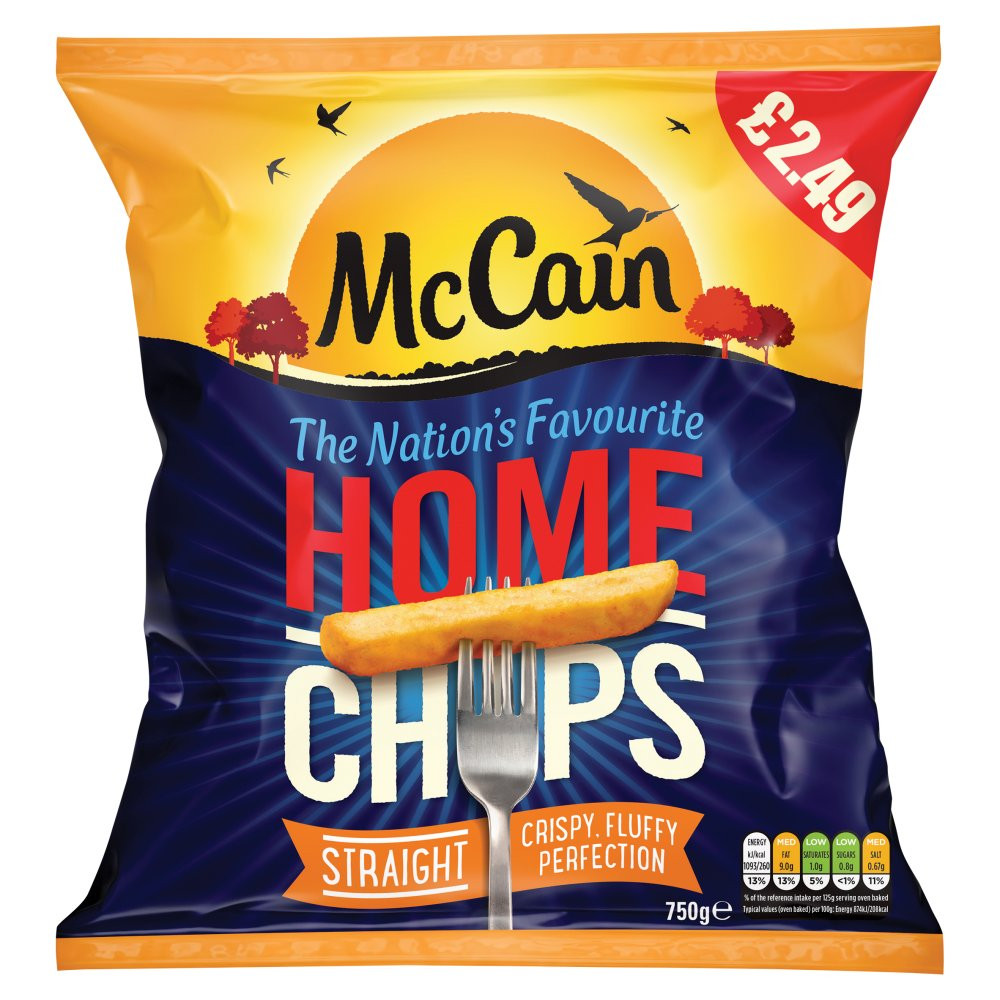 McCain Home Chips Straight 750g