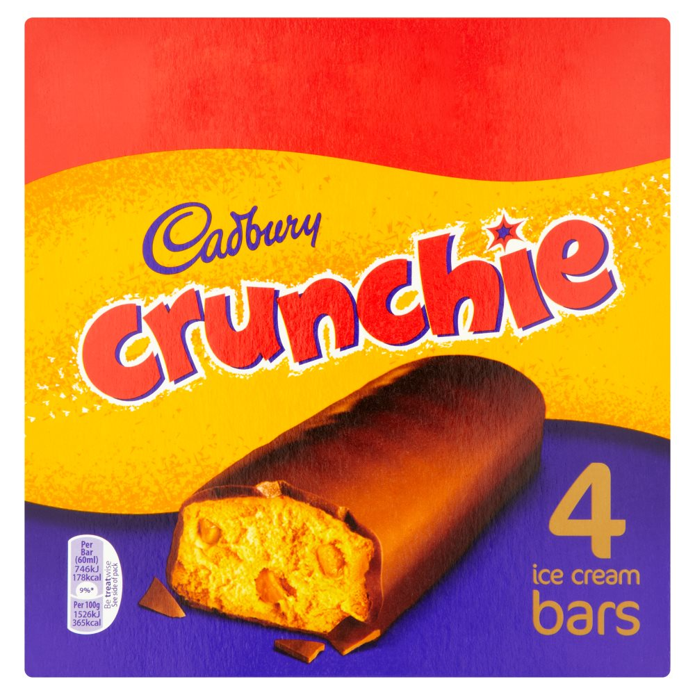 Cadbury Crunchie Bar PM £1.50