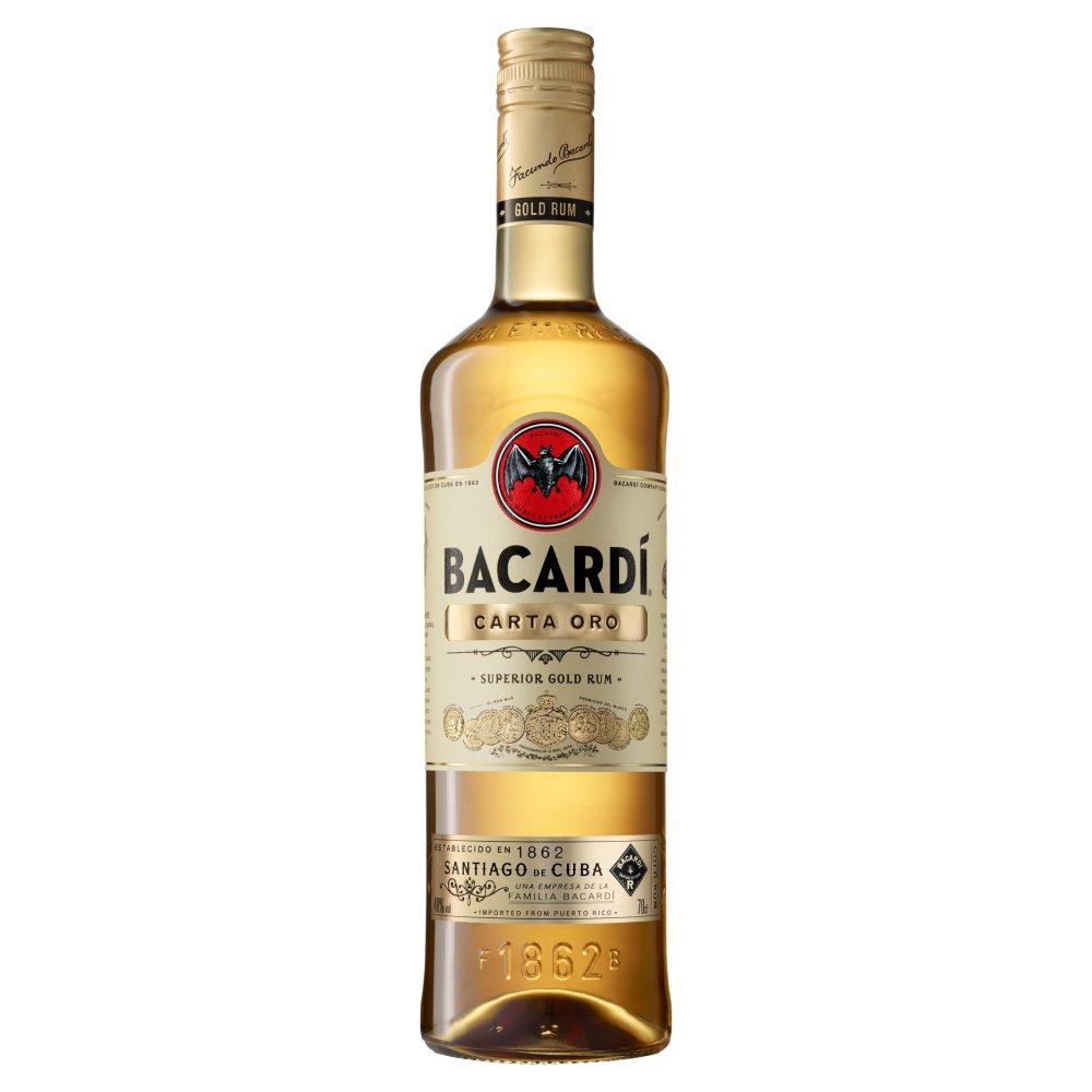 Bacardi Carta Oro 700ml