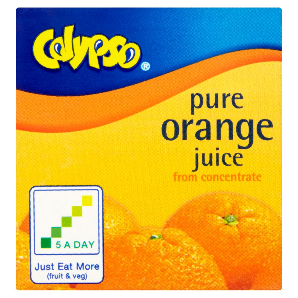 Calypso Pure Juice Orange