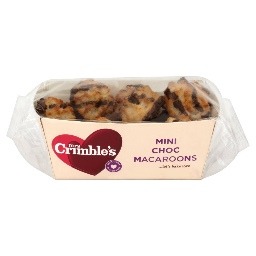Mrs Crimbles Mini Chocolate Macaroons