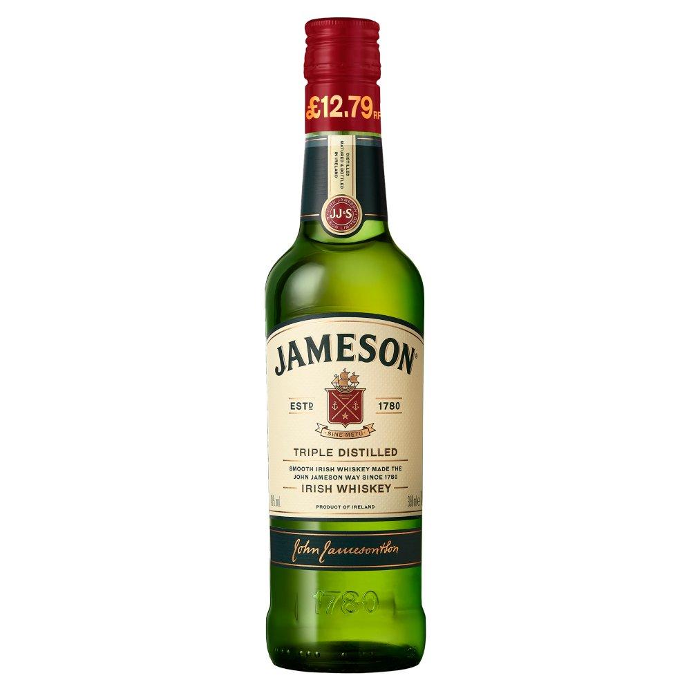 Jameson Triple Distilled Irish Whiskey 35cl PMP £12.79