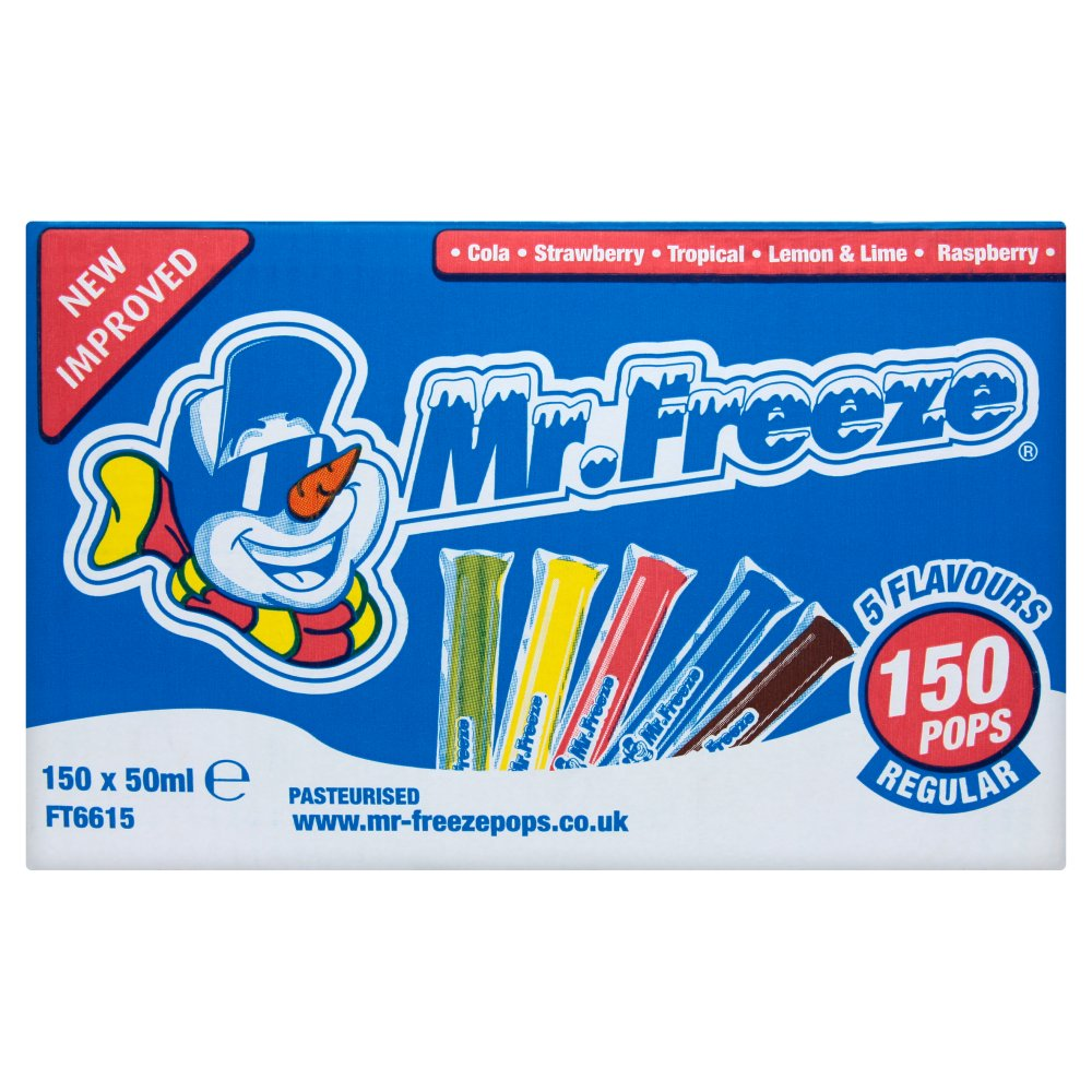 Mr Freeze Ice Pops 50ml