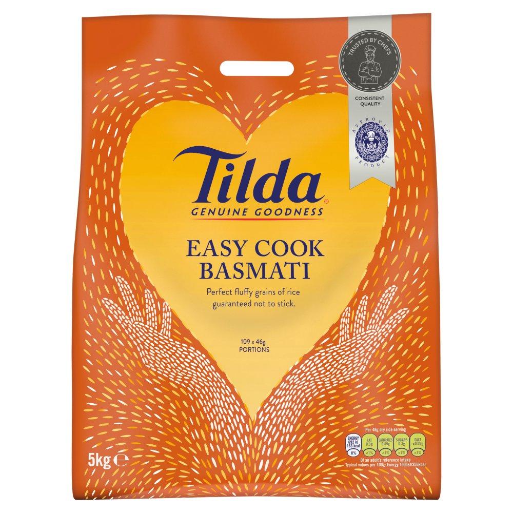 Tilda Easy Cook Basmati 5kg