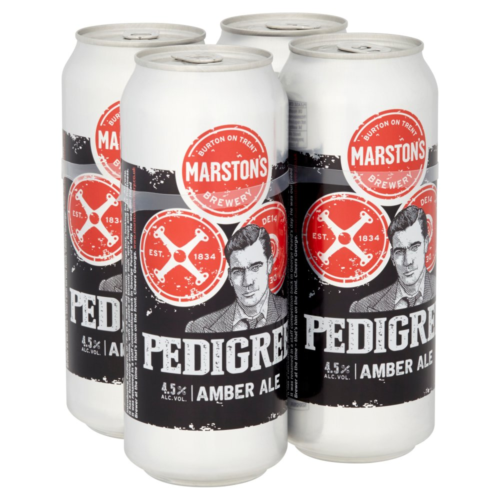 Marstons Pedigree 4 Pack 4.5%