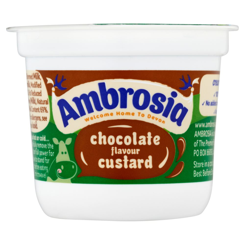 Ambrosia Custard Chocolate Pot