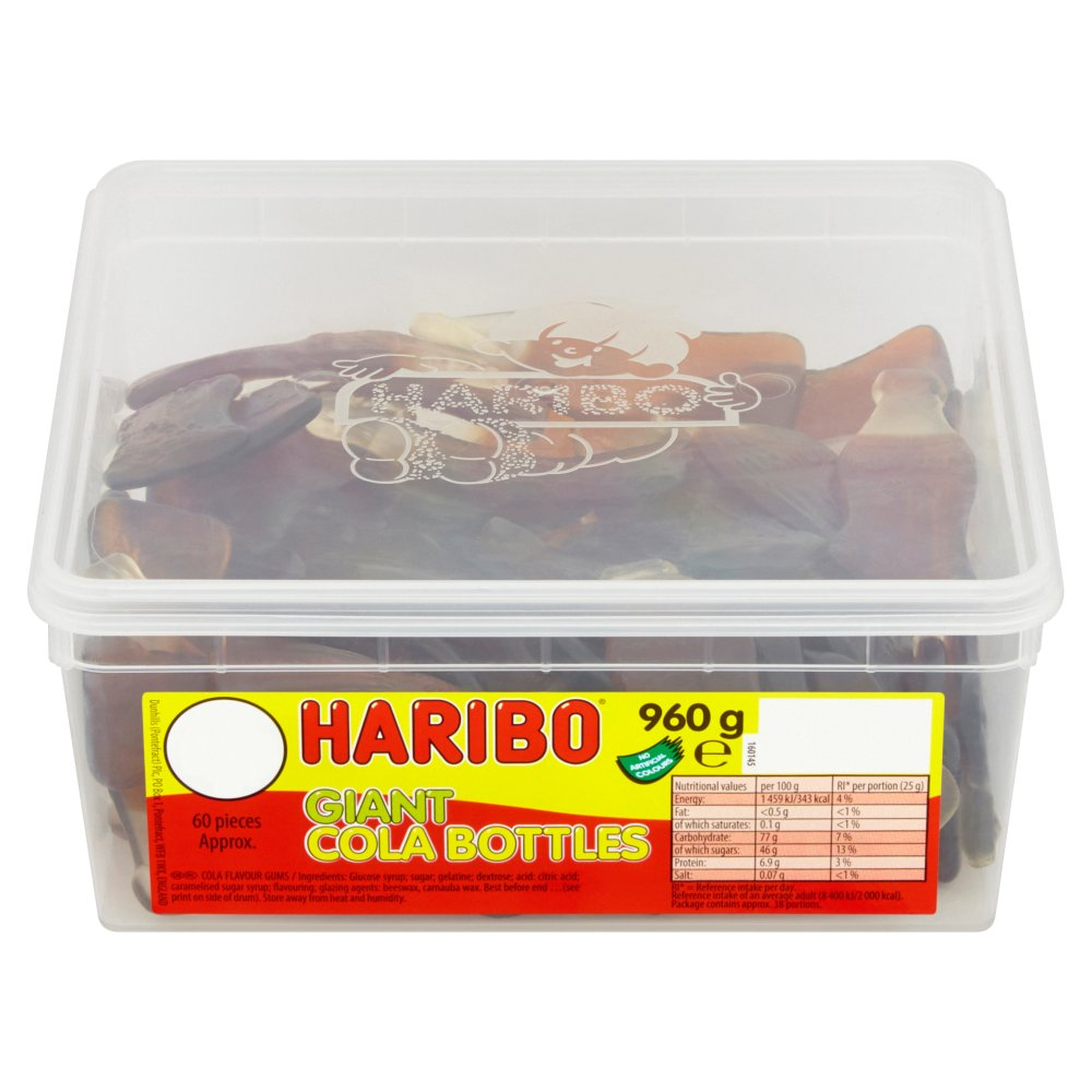 Haribo Giant Cola Bottle Pce