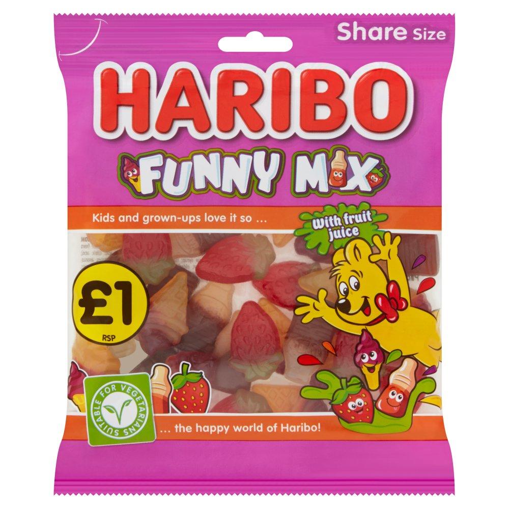 HARIBO Funny Mix Bag 160g £1PM