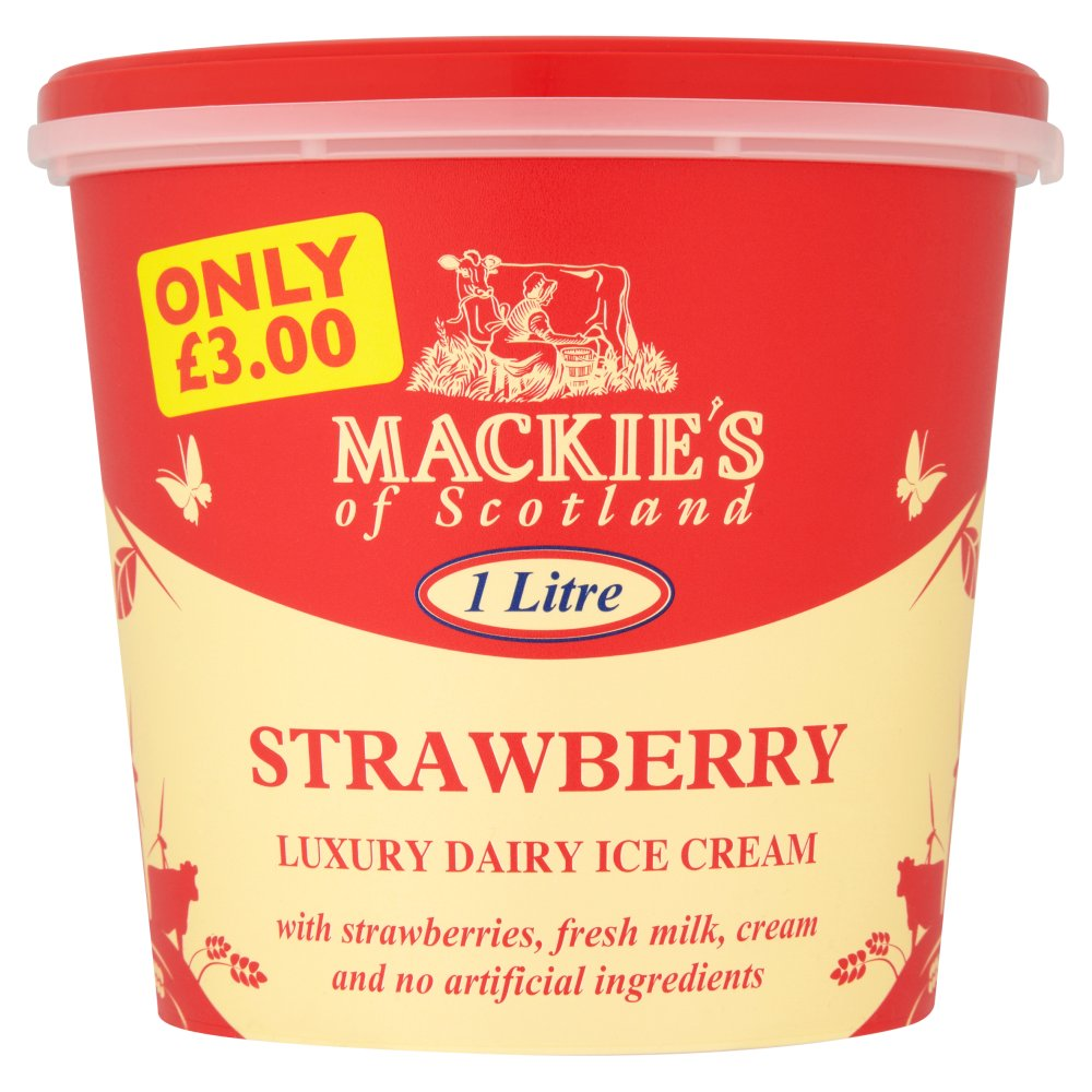 Mackies Strawberry PM £3