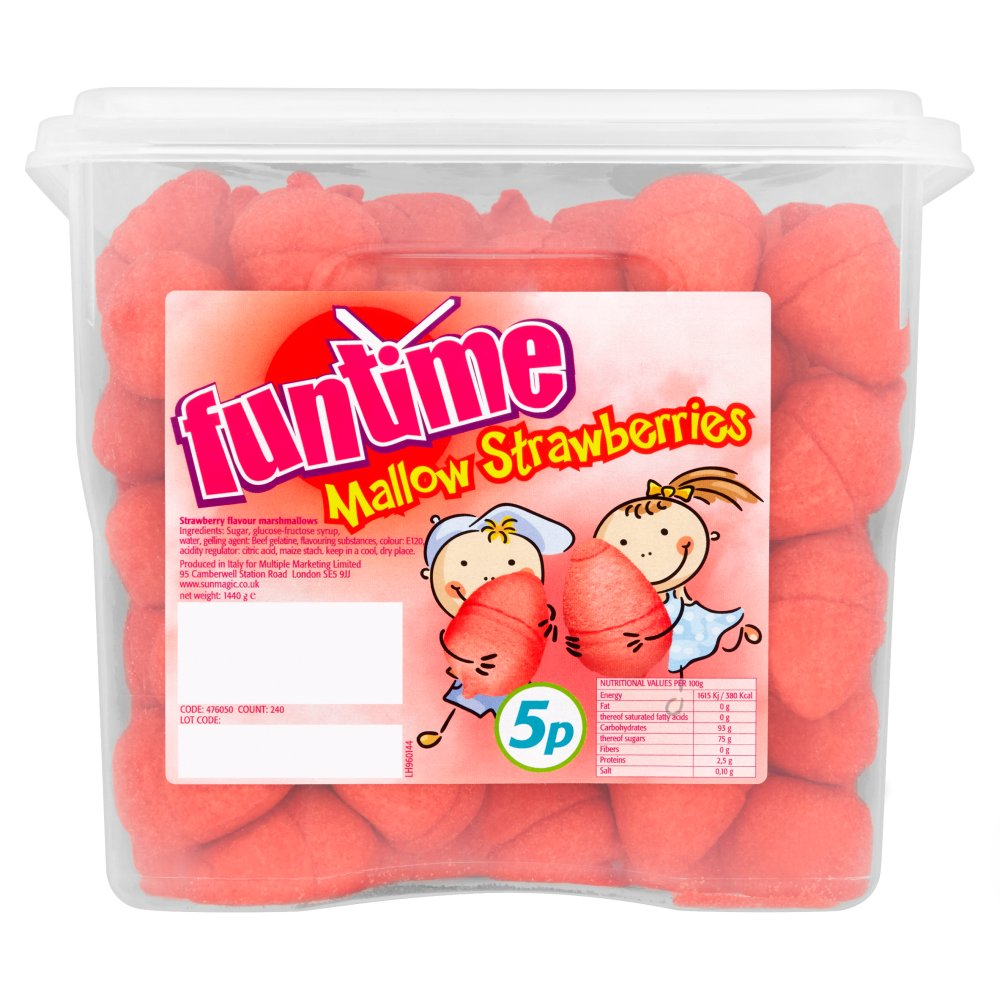 Funtime Mallow Strawberries