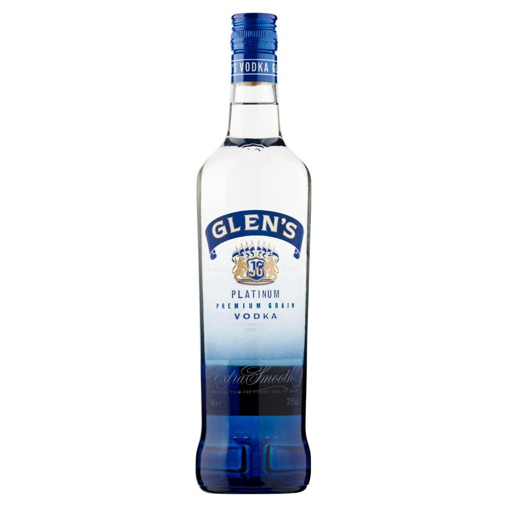 Glen's Platinum Premium Grain Vodka 70cl