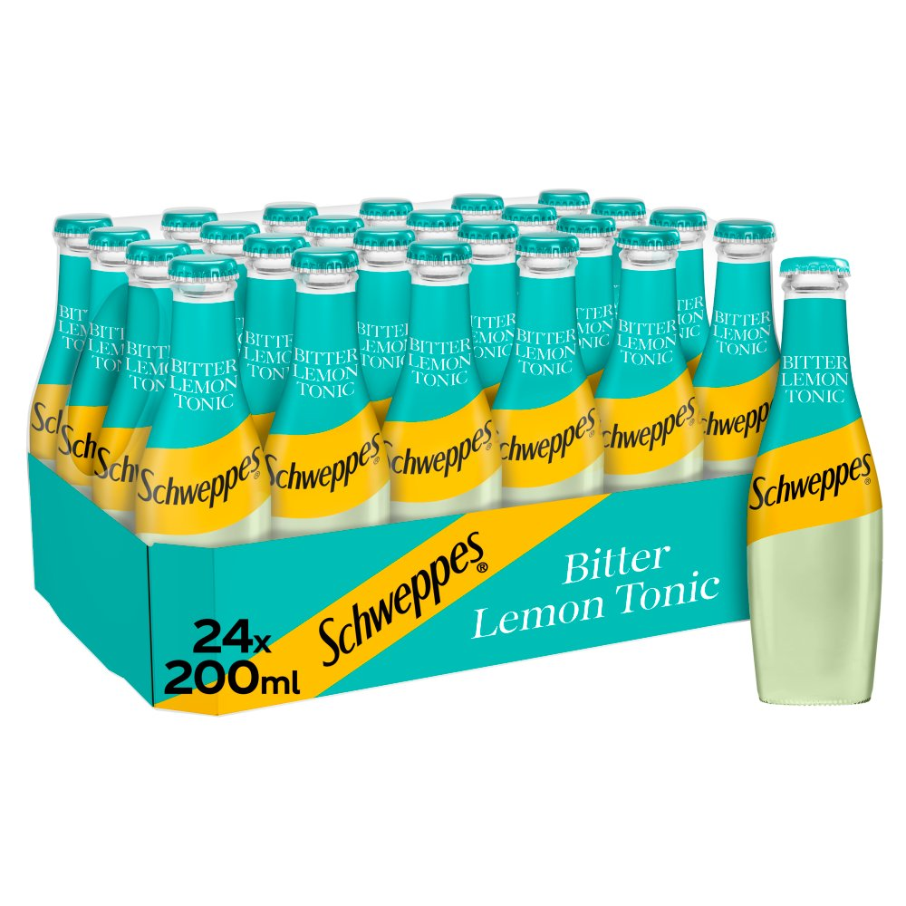 Schweppes Bitter Lemon 24 x 200ml