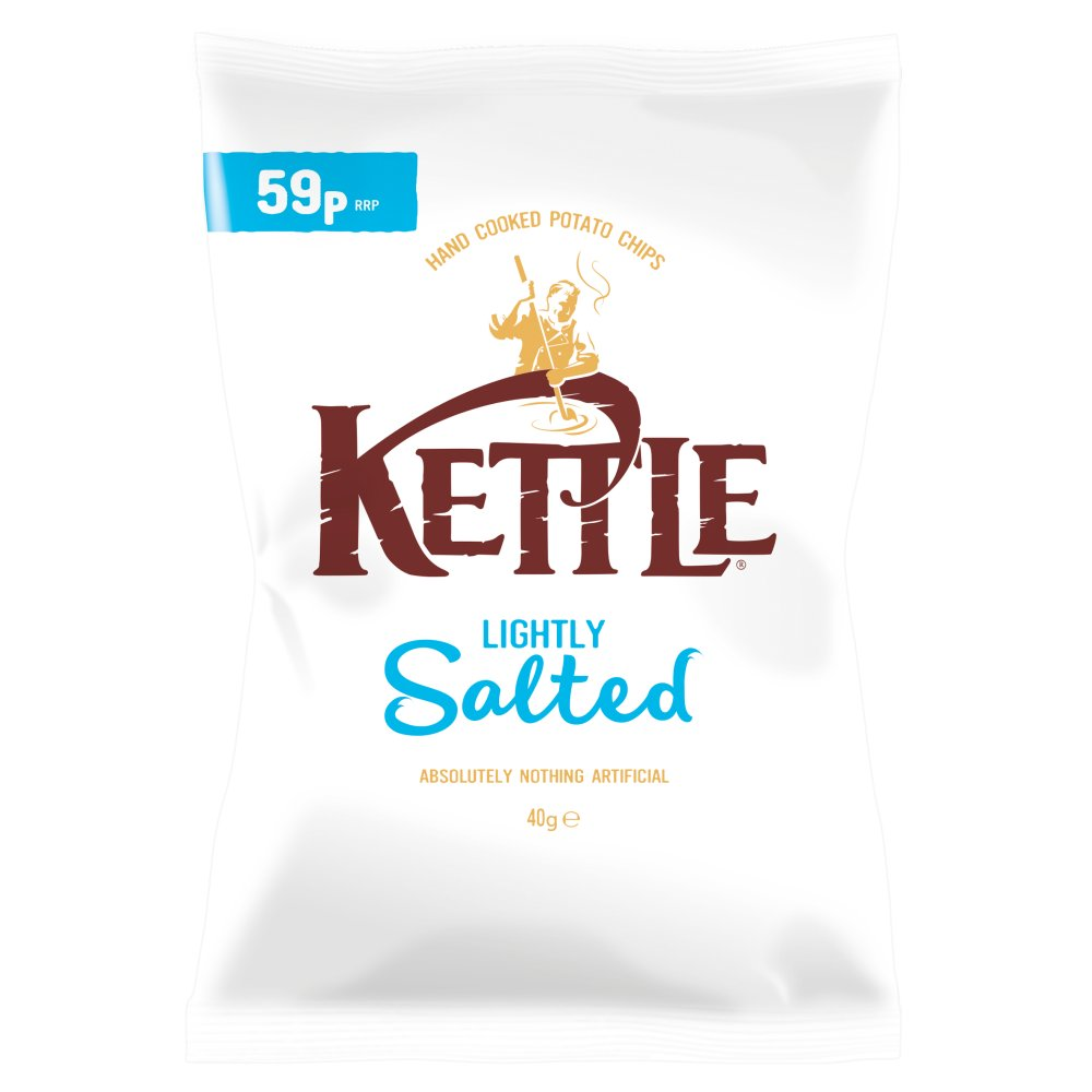 Kettle Chips Lightly Salted PM 59p