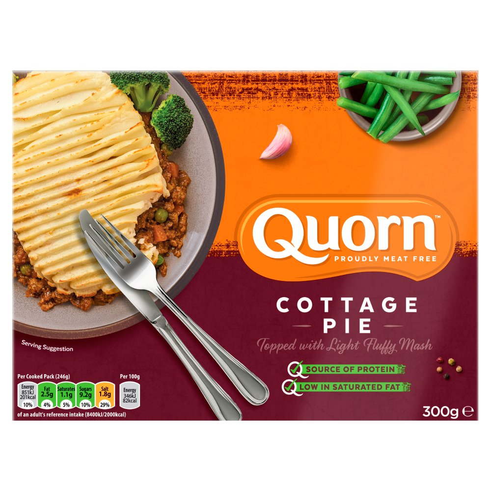 Quorn Cottage Pie Ready Meal 300g