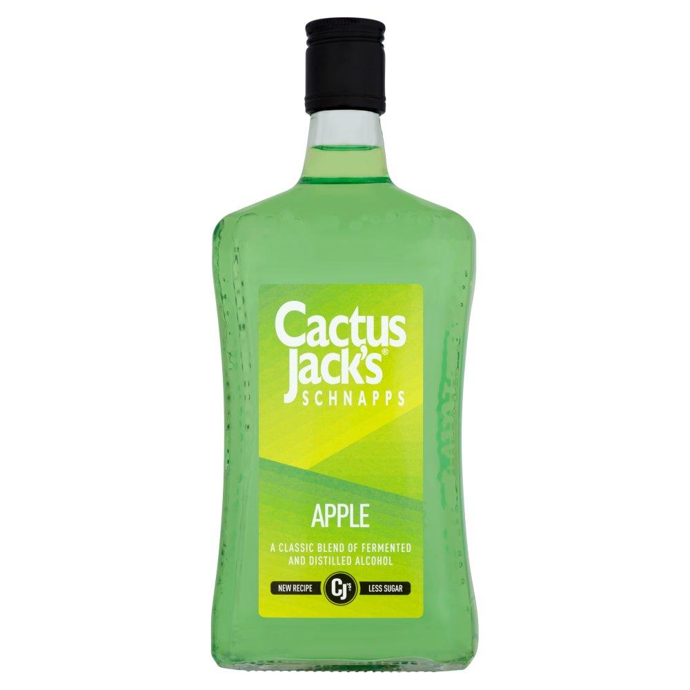 Cactus Jack's Schnapps Apple Sour 70cl