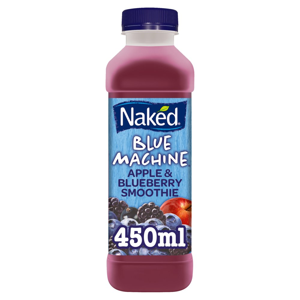blue machine juice