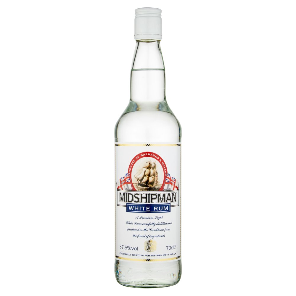 Midshipman White Rum 70cl