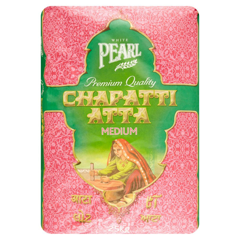 White Pearl Chapati Atta Medium