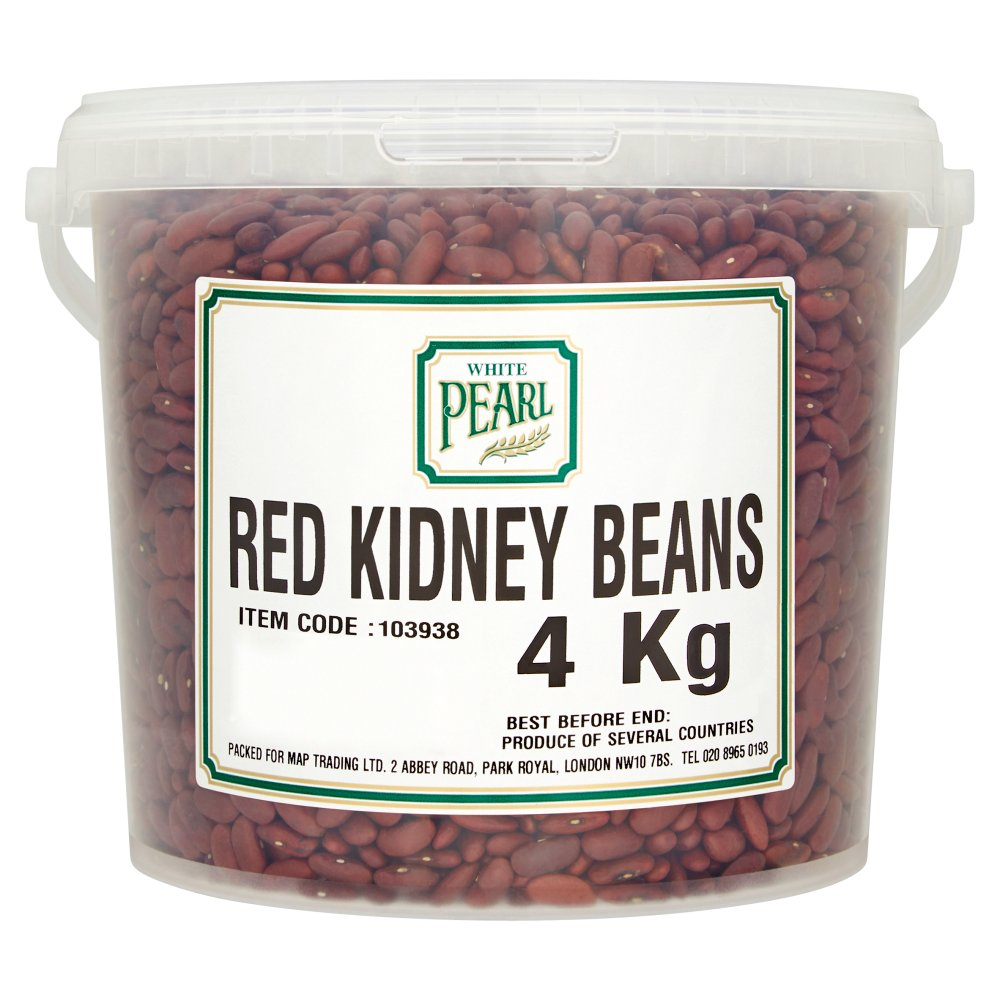 White Pearl Red Kidney Beans 4Kg