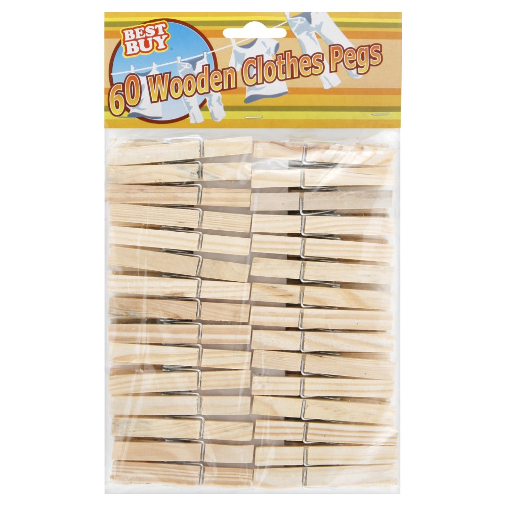 Best Buy Wooden Clothes Pegs