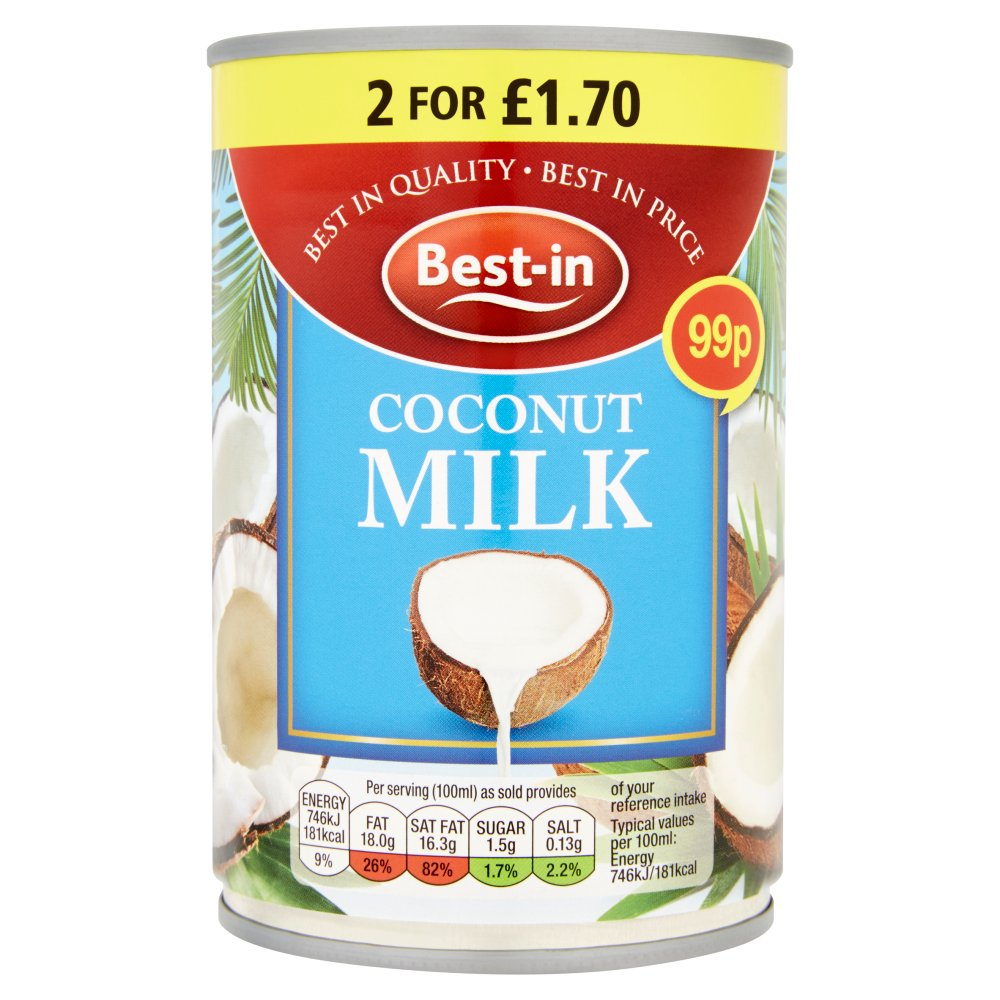 Bestin Coconut Milk PM 99p