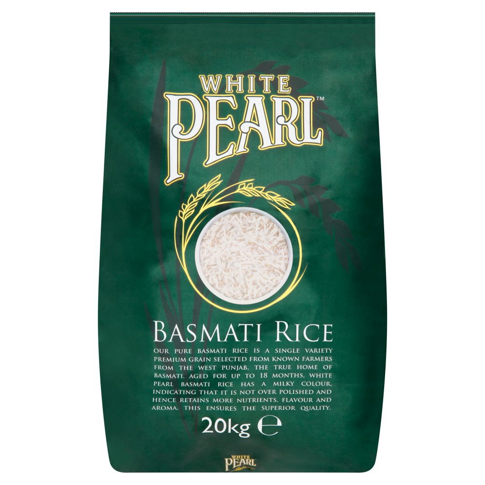 White Pearl Basmati Rice