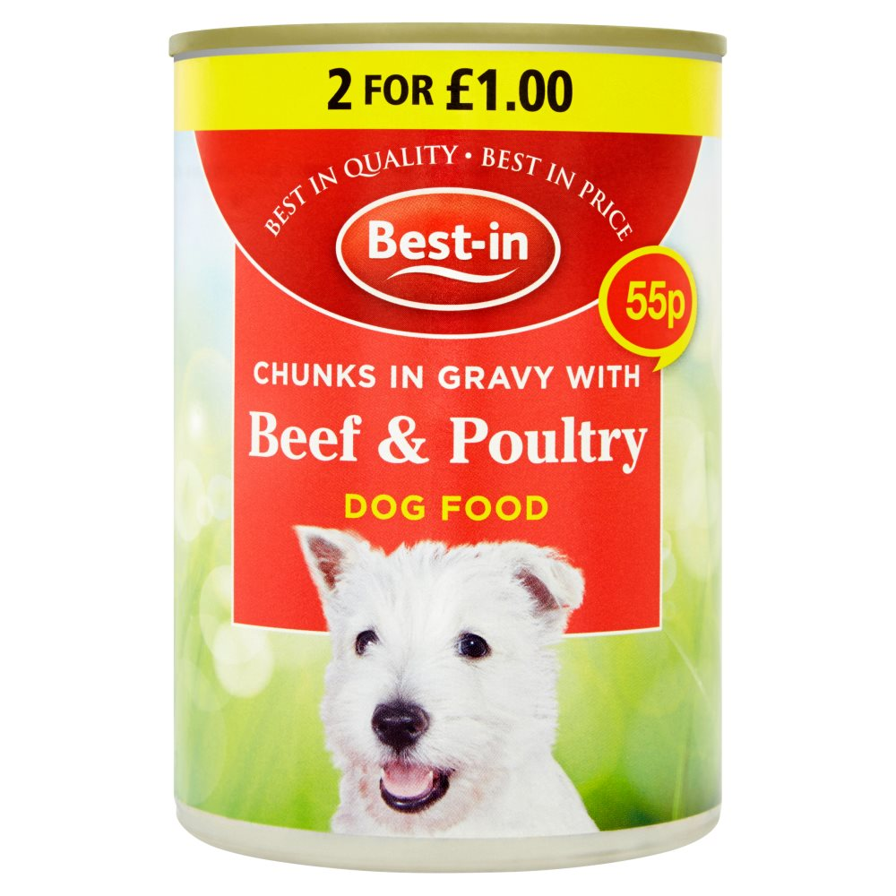 Bestin Dog Beef/ Poultry PM 55p