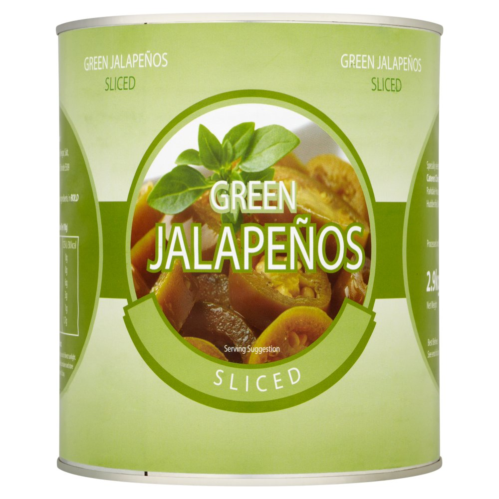 Caterers Pride Sliced Green Jalapenos