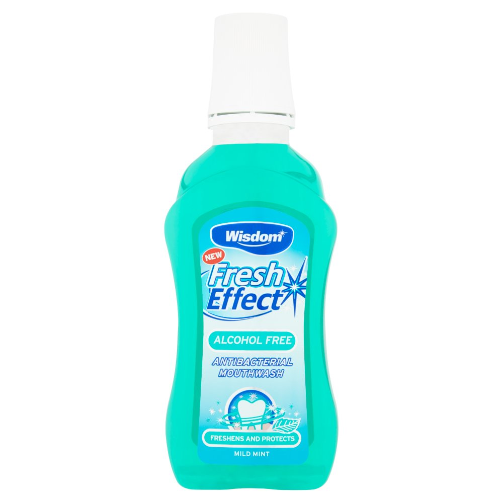Wisdom Fresh Effect Alcohol Free Mouthwash